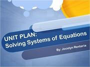 Jocelyn Renteria- Systems of Equations