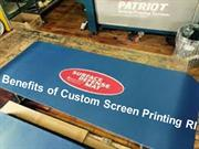 Benefits of Custom Screen Printing RI