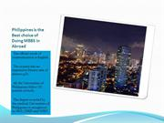 Study MBBS in Philippines   TakeHold of Your Career