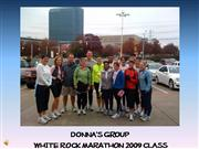 Donna's Run On  Group WRM 2009
