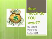 How much do YOU owe?