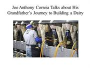 Joe Anthony Correia Talks about His Grandfather's Journey