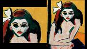 KIRCHNER, Ernst Ludwig, Featured Paintings in Detail (2)