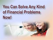 Faxless Payday Loans- Easy Financial Solution With Short Term Cash