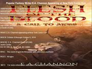 Popular Fantasy Writer E.A. Channon Appearing