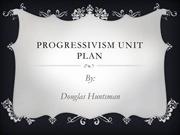 Progressivism Unit Plan