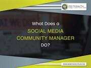 What Does a Social Media Community Manager DO