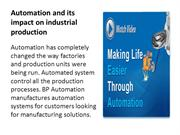 Automation and its impact on industrial production