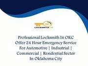 Emergency Locksmith OKC