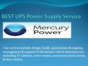 BEST UPS Power Supply Service