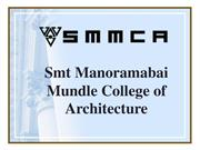 Architecture Colleges in Maharashtra | SMMCA