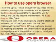 Opera browser customer support phone number