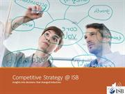 Competitive Strategy @ ISB_GroupE5