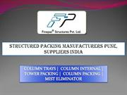 Structured Packing Manufacturers Pune, Suppliers India