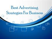 Best Advertising Strategies For Business