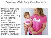 Selecting  Right Baby Care Products