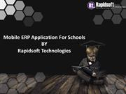 Mobile ERP System For Schools