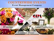 Countrywide Events - Event Company in Delhi