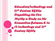 Educators Technology and 21st Century Skills