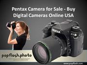 Pentax Camera for Sale - Buy Digital Cameras Online USA