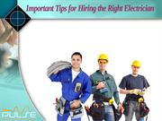 How to find the best Electrician?