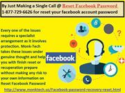 Reset Facebook password @1-877-729-6626 Toll Free for various Services