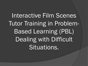 Interactive Film Scenes Tutor Training in Problem-Based Learning