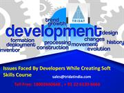 Issues Faced By Developers While Creating Soft Skills Course