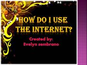 how to use internet