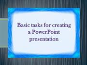 steps in making powertpoint presentation