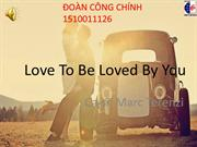 Bài KARAOKE- Love To Be Love By You (1)