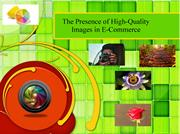 The Presence of High-Quality Images in E-Commerce