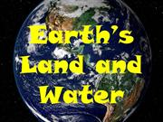 Earth's Land and Water