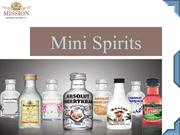 Miniature Bottles Of Spirits - Mission Wine And Spirits