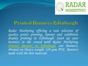 Printed Banners Edinburgh