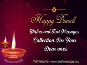 Beautiful Happy Diwali Wishes Quotes | Diwali Messages 2016