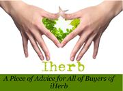 A Piece of Advice for All of Buyers of iHerb
