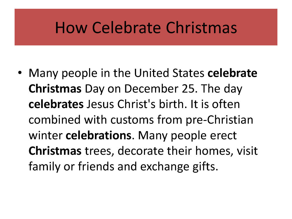 christmas wishes - How Many People Celebrate Christmas