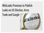 WikiLeaks Promises to Publish Leaks on Google | CR Risk Advisory