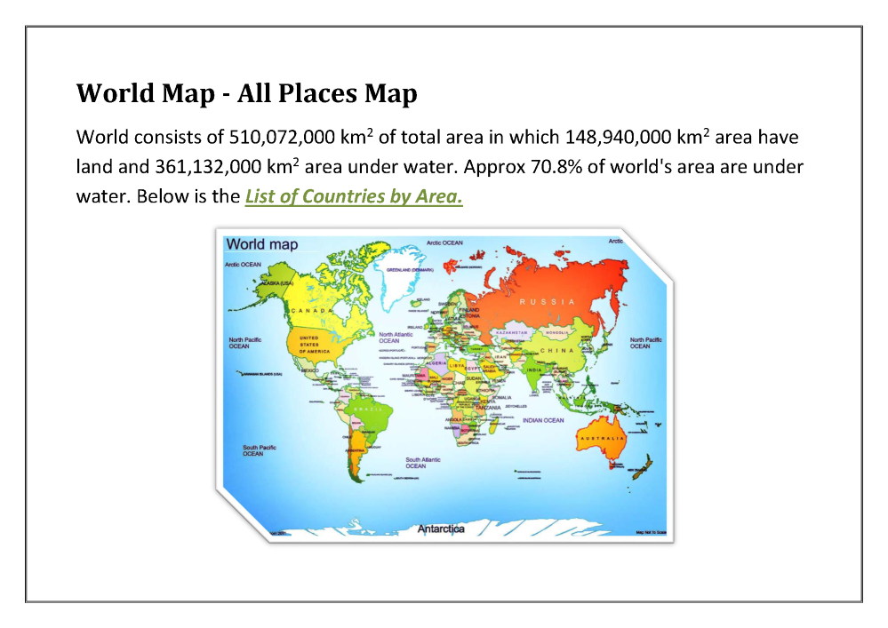 All places map world map map finder map authorstream gumiabroncs Image collections