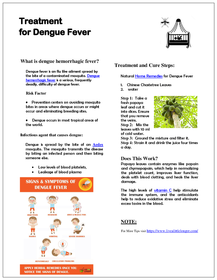 ★ 19 Top Dengue Fever Diet Secrets