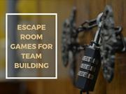 Escape Room Games For Team Building