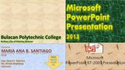 POWERPOINT FINAL ACTIVITY (MARIA ANA SANTIAGO)