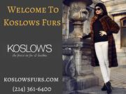 Fur Cleaning and Storage Services - Koslow's Furs