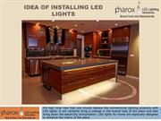 Creative ideas to install LED lights