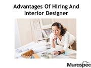 Advantages Of Hiring And Interior Designer