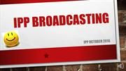 IPP BROADCASTING  October Halloween