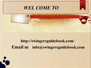Guidebook for Excellent Swingers Lifestyle