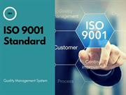 ISO 9001 Certification qms system for firm
