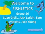 Fishletics - COMM140